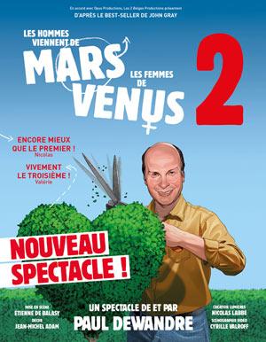 MARS ET VENUS 2:L'AVENTURE CONTINUE, Lieu : CITE DES CONGRES
