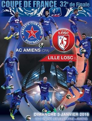 Ac amiens losc lille amiens le 03 01 2016 koifaire - Amiens lille coupe de france ...