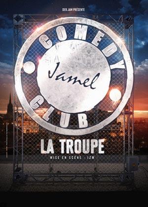 LA TROUPE DU JAMEL COMEDY CLUB, Lieu : KURSAAL