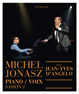 MICHEL JONASZ, THEATRE DU CASINO D'ENGHIEN