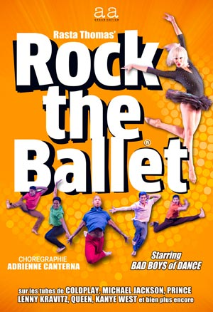 ROCK THE BALLET, Lieu : CENTRE CULTUREL LA PASSERELLE