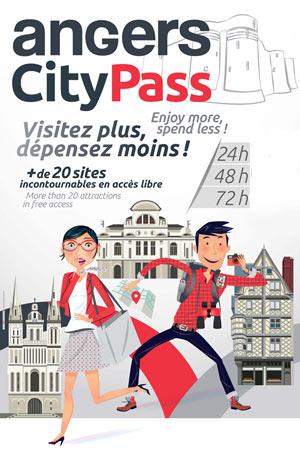 City pass angers val de loire office du tourisme d 39 angers angers cedex 02 49051 - Angers office du tourisme ...