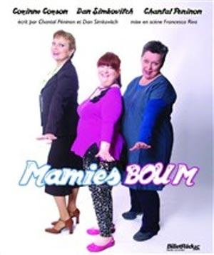MAMIES BOUM LA BOITE A RIRE comédie, pièce de théâtre d'humour