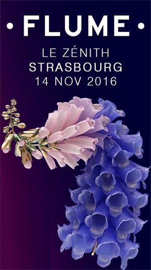 FLUME, Lieu : ZENITH DE STRASBOURG ZENITH EUROPE