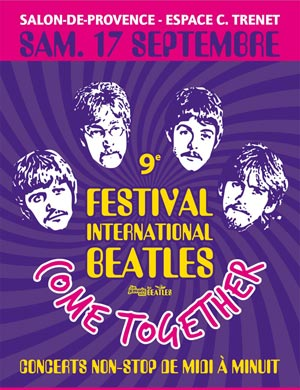 Festival international beatles - Espace charles trenet salon de provence ...