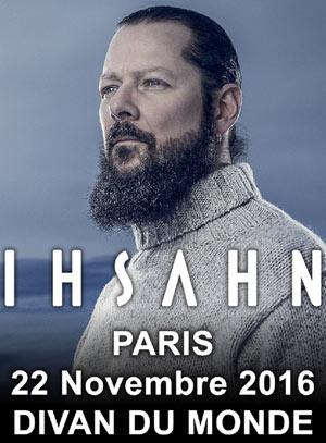 Ihsahn le divan du monde paris 18 75018 for Divan du monde