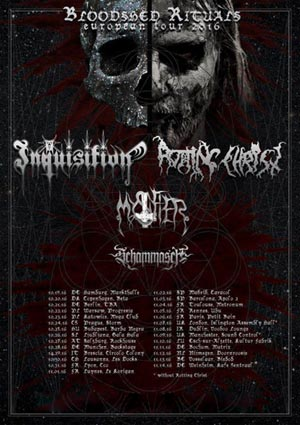 INQUISITION, ROTTING CHRIST +GUESTS