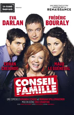 CONSEIL DE FAMILLE, THEATRE DU CASINO - GRAND CERCLE