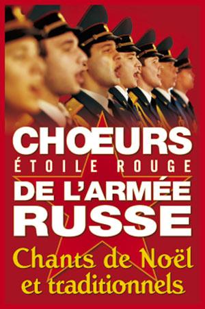 CHOEURS ARMEE RUSSE, Lieu : EGLISE SAINT LOUIS