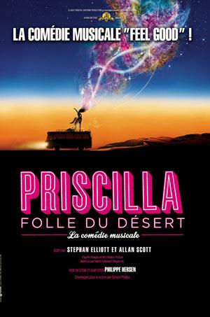 PRISCILLA FOLLE DU DESERT, Lieu : ZENITH NANTES METROPOLE