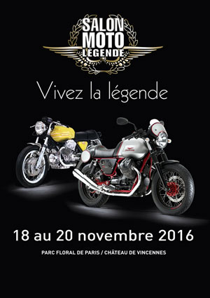 SALON MOTO LEGENDE 2016