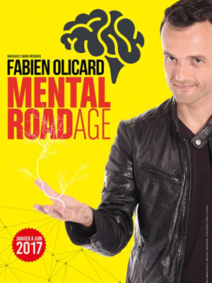 FABIEN OLICARD DANS MENTAL ROADAGE, Lieu : ROOM CITY