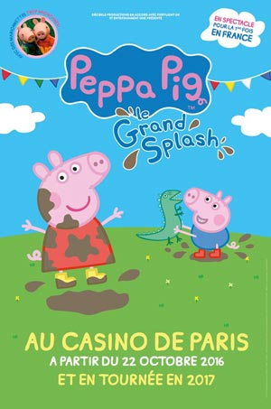 PEPPA PIG, Lieu : ESPACE CHAUDEAU