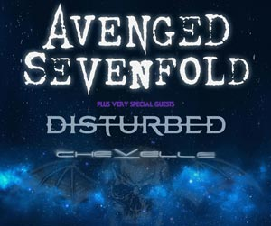 AVENGED SEVENFOLD WITH SPECIAL