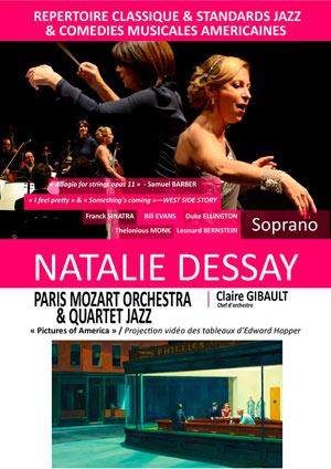 NATALIE DESSAY - EDWARD HOPPER -, Lieu : GARE DU MIDI
