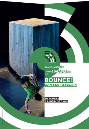 BOUNCE!, Lieu : AUDITORIUM JEAN-PIERRE MIQUEL