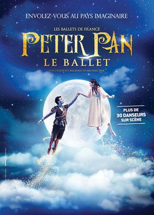 PETER PAN - LE BALLET, Lieu : ESPACE P. BACHELET - LA CARTONNERIE