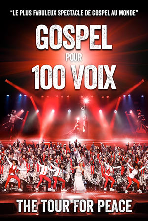 GOSPEL POUR 100 VOIX, Lieu : BREST ARENA