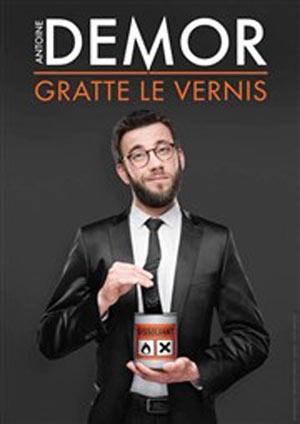 ANTOINE DEMOR GRATTE LE VERNIS, Lieu : ROOM CITY