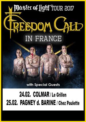 FREEDOM CALL +GUEST, Lieu : CHEZ PAULETTE