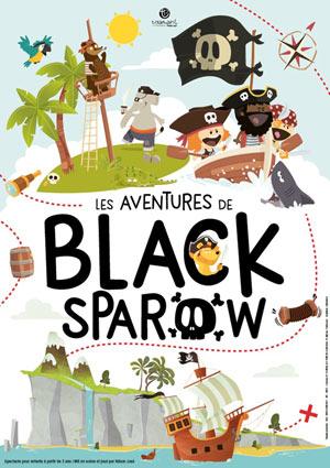 LES AVENTURES DE BLACK SPAROW, Lieu : ROOM CITY