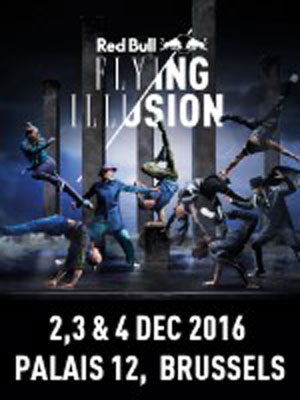 RED BULL FLYING ILLUSION, Spectacles