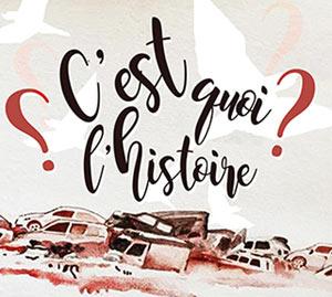 C'EST QUOI L'HISTOIRE ?, Lieu : LE COMPTOIR