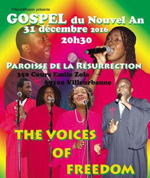 GOSPEL DU NOUVEL AN, Lieu : PAROISSE DE LA RESURRECTION