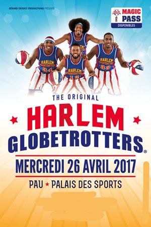 HARLEM GLOBETROTTERS, Lieu : PALAIS DES SPORTS