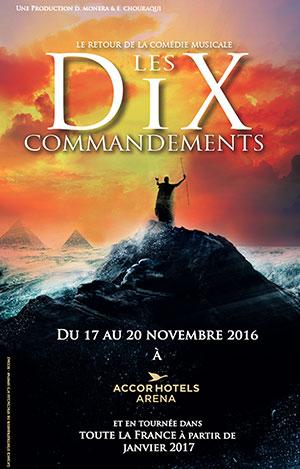 LE RETOUR DES DIX COMMANDEMENTS, Lieu : ZENITH NANTES METROPOLE