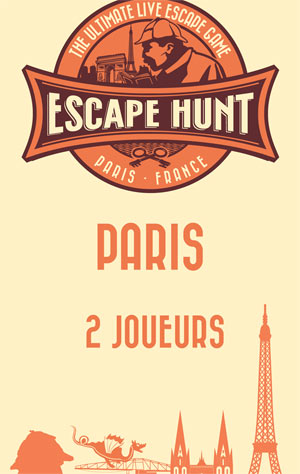 LIVE ESCAPE GAME PARIS -2 PERSONNES