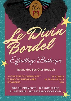 Le Divin Bordel Spectacles 224 Reims Le 10 02 2017