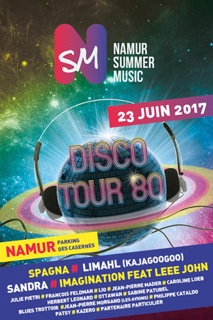 DISCO TOUR 80 NAMUR SUMMER MUSIC