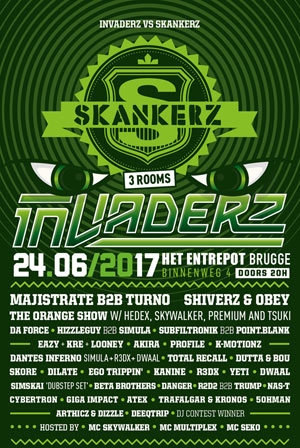 INVADERZ VS SKANKERZ