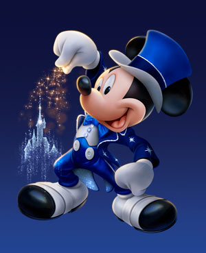 DISNEY 1J 1P - BILLET SUPER MAGIC
