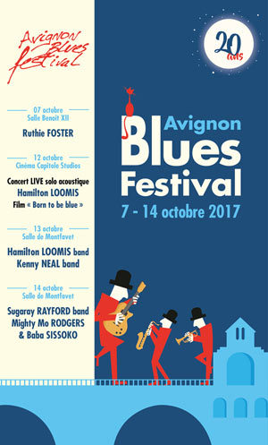 AVIGNON BLUES FESTIVAL - PASS C