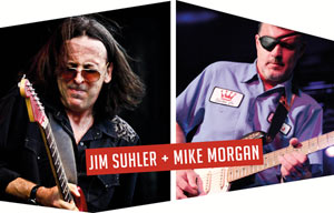 JIM SULHER + MIKE MORGAN + THE RIDE