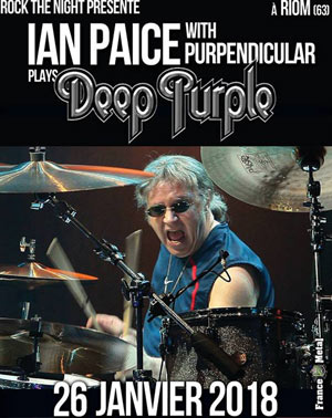 IAN PAICE WITH PURPENDICULAR