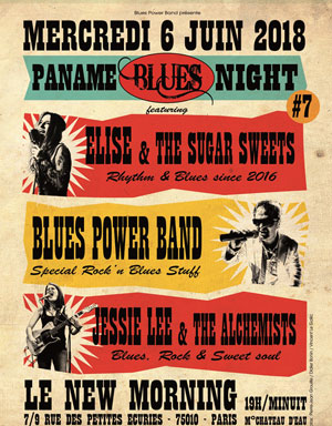 PANAME BLUES NIGHT #7