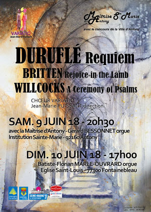 REQUIEM DE DURUFLE/ CHOEUR VARIATIO