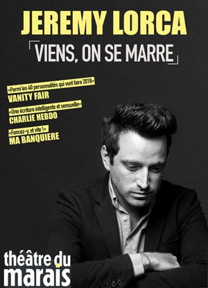 JEREMY LORCA - VIENS ON SE MARRE