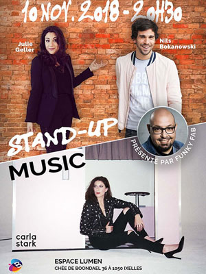MUSIC & STAND-UP