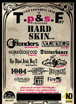 TRADITIONNEL PUNK & SKINS FESTIVAL
