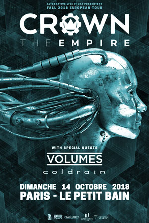 CROWN THE EMPIRE + VOLUMES