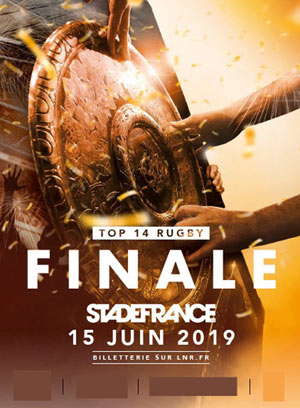 FINALE TOP 14 RUGBY - 2019