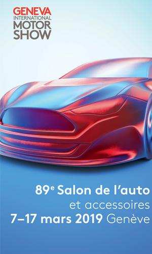 89eme salon int de l 39 automobile de geneve palexpo geneve salon foire sur france billet - Billet salon de l auto geneve ...