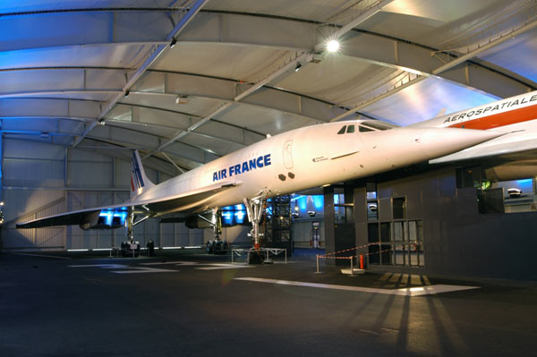 VISITE AVIONS CONCORDE + BOEING 747 Musée de l'Air et de l'Espace exposition