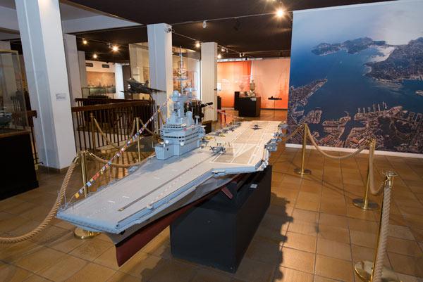 MUSEE NATIONAL DE LA MARINE-TOULON MUSEE NATIONAL DE LA MARINE visite de monument