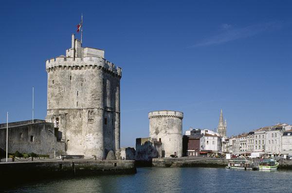 TOURS DE LA ROCHELLE : ST NICOLAS, TOURS DE LA ROCHELLE visite de monument