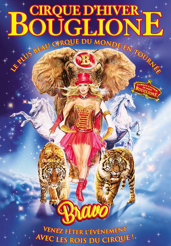 CIRQUE D'HIVER BOUGLIONE CHAPITEAU cirque